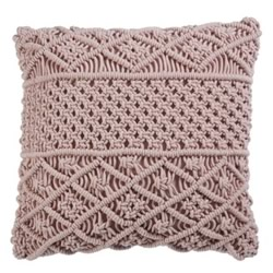 Chile Soft Pink Cushion