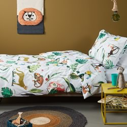 Crazy Jungle Quilt Cover Set