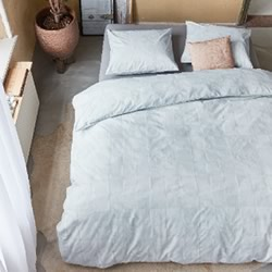 Fair White Quilt Cover Set