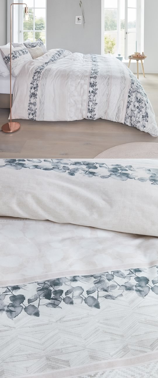 Forest Voice Coral Quilt Cover Set By Bedding House
