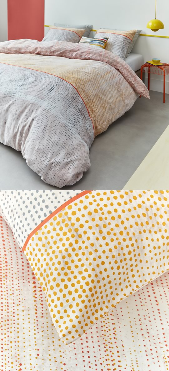 Libby Orange Quilt Cover Set By Bedding House Cottonbox