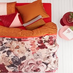 Oilily Mellow Rose Quilt Cover Set