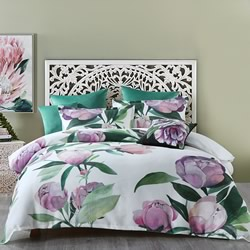 Charmaine White Quilt Cover Set
