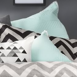 Vivid Mint European Pillowcase