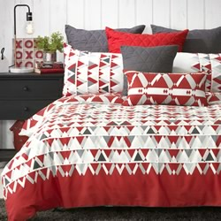 Floyd Red Quilt Cover Set