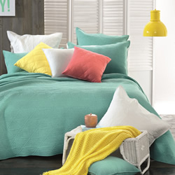 Rylee Mint Coverlet Set
