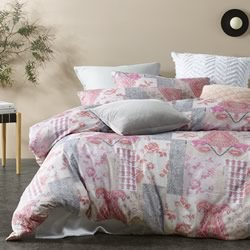 Bronte Bashed Quilt Cover Set
