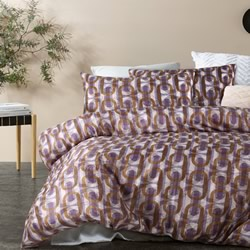Brunswick Purple Quilt Cover Set