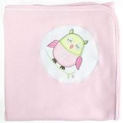 Baby Owl Girl Jersey Wrap
