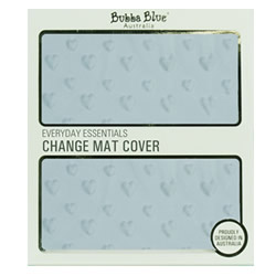 Blue Essentials Change Pad Cover