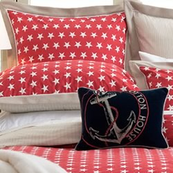 Southport Red Pillowcase