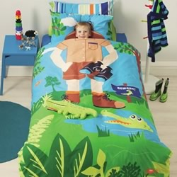 Croc Hunter Quilt Cover Set