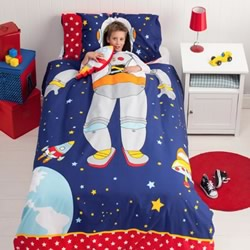 Spaceman Quilt Cover Set
