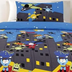 Supersquad Quilt Cover Set