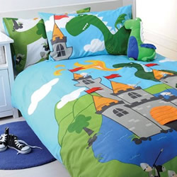 Dragon Castle Quilt Cover Set