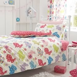 Bunnies Quilt Cover Set