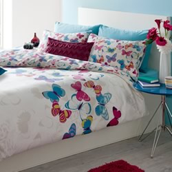 Butterfly Fusion Quilt Cover Set