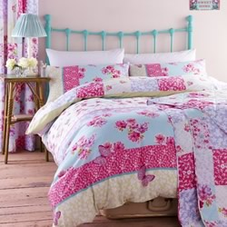 Gypsy Patchwork Quilt Cover Set