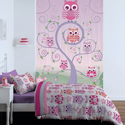 Owl Quilt Cover Set