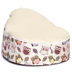 Hoot Cream Snuggle Pod