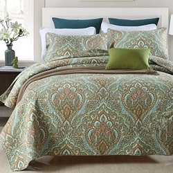 Freya Leaf Coverlet Set
