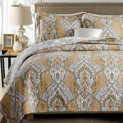 Kesha Pineapple Coverlet Set