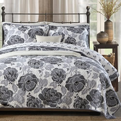 Parisian Grey Coverlet Set