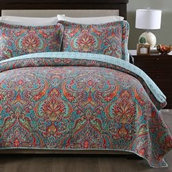 Sari Multi Coverlet Set