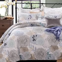 Floral Bloom Bedspread