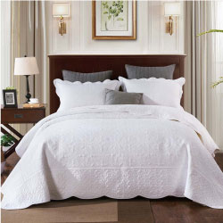 Antique White Bedspread