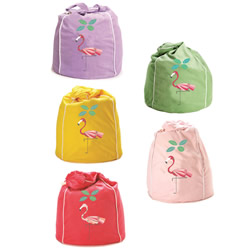 Fancy Flamingo Bean Bags