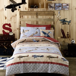 Aviator Quilt Cover Set