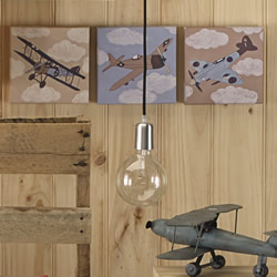 Aviator 3pk Wall Canvas