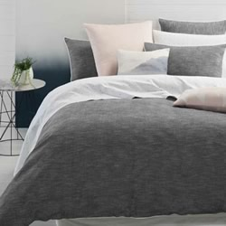Chloe Charcoal Quilt Cover Set