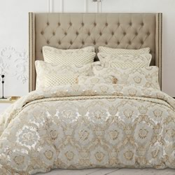 Arison Gold Quilt Cover Set