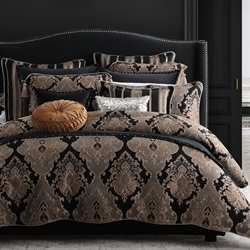 Atticus Black Quilt Cover Set