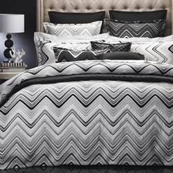 Sinatra White Quilt Cover Set