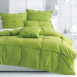 Alessio Green Quilt Cover Set