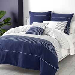 Axon Blue Quilt Cover Set