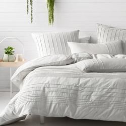 Cameron Silver Quilt Cover Set