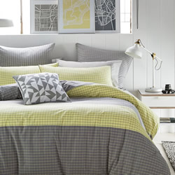 Casper Grey Quilt Cover Set