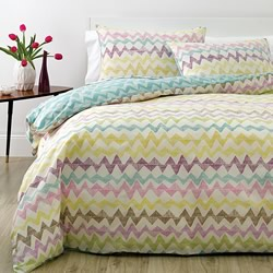 Cross Hatch Quilt Cover Set
