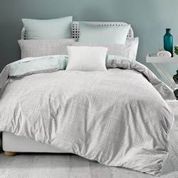 Meiko Mint Quilt Cover Set