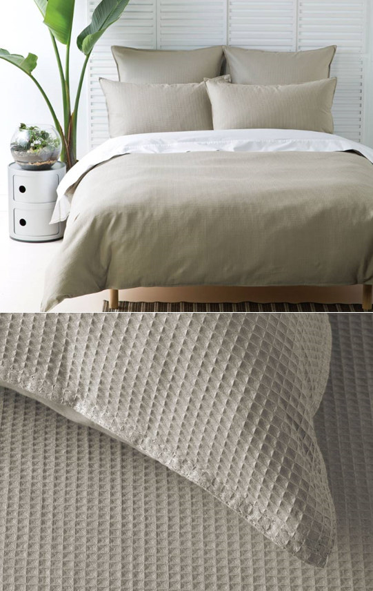 Waffle Linen By Deco Cottonbox