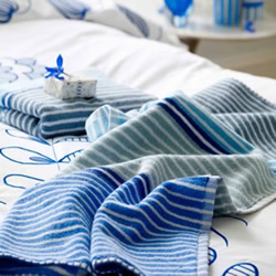Olsson Cobalt Towels