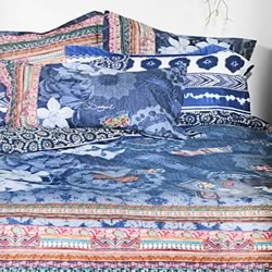 Exotic Jeans Quilt Cover Set
