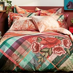 Love Tartan Quilt Cover Set
