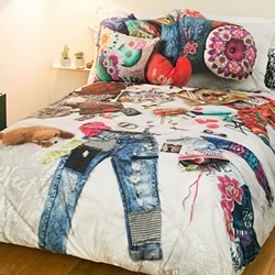 Messy Bed Quilt Cover Set