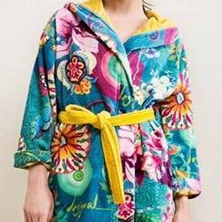 Paisley Bloom Bath Robes