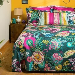 Paisley Bloom Quilt Cover Set